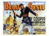 Beau Geste  Gary Cooper  1939