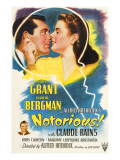 Notorious  Cary Grant  Ingrid Bergman  Claude Rains  1946