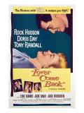 Lover Come Back  Rock Hudson  Doris Day  Tony Randall  Edie Adams  Jack Kruschen  1961