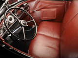 1936 Auburn 852 SC Speedster Interior