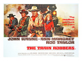 The Train Robbers  Rod Taylor  Ben Johnson  John Wayne  Ann-Margret  1973