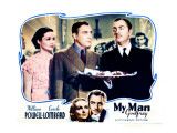 My Man Godfrey  William Powell  Alice Brady  Carole Lombard  1936