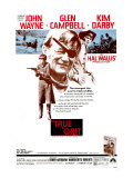 True Grit  Kim Darby  John Wayne  Glen Campbell  1969