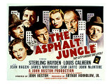 The Asphalt Jungle  with Jean Hagen  Sterling Hayden  Anthony Caruso  and Marilyn Monroe  1950