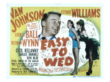 Easy to Wed  Van Johnson  Esther Williams  Lucille Ball  1946