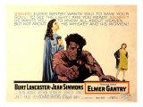 Elmer Gantry  Jean Simmons  Burt Lancaster  Shirley Jo Nes  1960