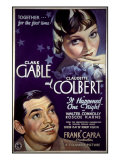 It Happened One Night  Clark Gable  Claudette Colbert  1934