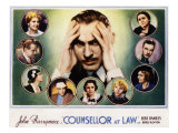 Counsellor at Law  John Barrymore  Malka Kornstein  Onslow Stevens  and Doris Kenyon  1933