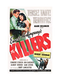 The Killers  Burt Lancaster  Ava Gardner  1946