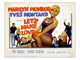 Let's Make Love  Frankie Vaughan  Marilyn Monroe  Yves Montand  1960