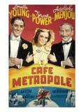Cafe Metropole  Tyrone Power  Loretta Young  Adolphe Menjou  1937