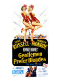 Gentlemen Prefer Blondes  Jane Russell  Marilyn Monroe  1953