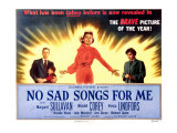 No Sad Songs for Me  Wendell Corey  Natalie Wood  Margaret Sullavan  Viveca Lindfors  1950