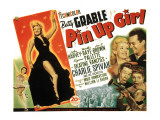 Pin-Up Girl  Betty Grable  John Harvey  Joe E Brown  Martha Raye  Charlie Spivak  1944