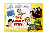 The Lucky Stiff  Brian Donlevy  Dorothy Lamour  Claire Trevor  1949