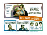 Bell Book and Candle  Kim Novak  James Stewart  Jack Lemmon  Ernie Kovacs  Hermione Gingold  1958