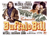 Buffalo Bill  Joel Mccrea  Maureen O&#39;Hara  1944