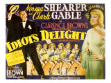 Idiot's Delight  Clark Gable  Norma Shearer  1939