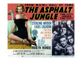 The Asphalt Jungle  with James Whitmore  Marilyn Monroe  and Louis Calhern  1950