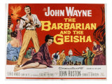 The Barbarian and the Geisha  John Wayne  Eiko Ando  1958