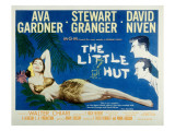 The Little Hut  Ava Gardner  Stewart Granger  David Niven  1957