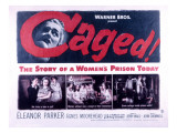 Caged  Eleanor Parker  Agnes Moorehead  Hope Emerson  1950