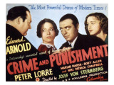 Crime and Punishment  Edward Arnold  Tala Birell  Peter Lorre  Marian Marsh  1935