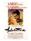 Adventure  Greer Garson  Clark Gable  1945