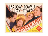 Libeled Lady  William Powell  Myrna Loy  Jean Harlow  Spencer Tracy  1936