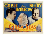 China Seas  Clark Gable  Jean Harlow  Wallace Beery  1935