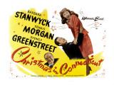 Christmas in Connecticut  Sydney Greenstreet  Dennis Morgan  Barbara Stanwyck  1945