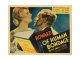 Of Human Bondage  Bette Davis  Leslie Howard  1934