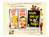 Please Don't Eat the Daisies  with Doris Day  Spring Byington  Richard Haydn  and David Niven  1960