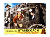 Stagecoach  George Bancroft  John Wayne  Louise Platt  1939