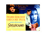 Spellbound  Ingrid Bergman  Gregory Peck  1945