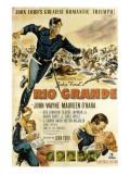 Rio Grande  John Wayne  Claude Jarman Jr  Maureen O'Hara  1950