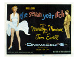 The Seven Year Itch  Marilyn Monroe  Tom Ewell  1955