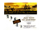 The Searchers  John Wayne  Natalie Wood  Vera Miles  Jeffrey Hunter  Ward Bond  1956