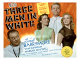 Three Men in White  Lionel Barrymore  Ava Gardner  Van Johnson  Marilyn Maxwell  1944