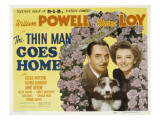 The Thin Man Goes Home  William Powell  Asta the Dog  Myrna Loy  1944