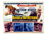 River of No Return  Marilyn Monroe  Robert Mitchum  1954