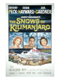 The Snows of Kilimanjaro  Susan Hayward  Gregory Peck  Ava Gardner  1952