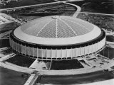 The Astrodome  Houston  Texas  1970's