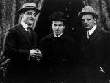 Essanay Studio's Three Star Performers  Francis X Bushman  Charlie Chaplin  Gilbert Anderson  1915