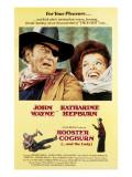 Rooster Cogburn  John Wayne  Katharine Hepburn  1975