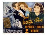 Stage Door  Adolphe Menjou  Ginger Rogers  Katharine Hepburn  1937