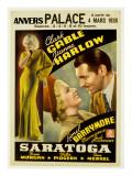 Saratoga  Jean Harlow  Clark Gable  1937