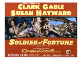 Soldier of Fortune  Clark Gable  Susan Hayward  Michael Rennie  Gene Barry  1955