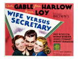 Wife Vs Secretary  Myrna Loy  Clark Gable  Jean Harlow  1936