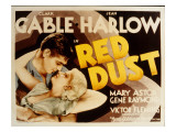 Red Dust  Clark Gable  Jean Harlow  1932